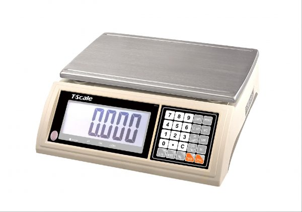 Kitchen Portion Scales For Sale: JW Heavy Duty Kitchen Scale. Capacity 15kg & 45kg. Battery or Mains Powered.