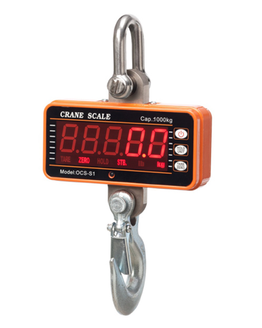 Digital Crane Scales for Sale: ES-R Series Hanging Scales. 300 - 1000 Kg. Remote Control