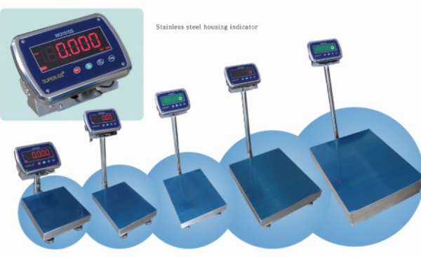 Waterproof Platform Scales For Sale: IP68 Stainless Steel.