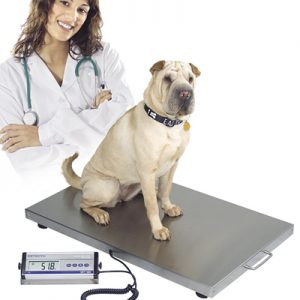 Vet Scales: WEV300 Large Animal Veterinary Scales. Capacity: 300kg x 100g.