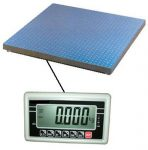 Floor Pallet Scales For Sale: Non-Trade Approved. Incl. Indicator & Certification. 600 - 5000 Kg.