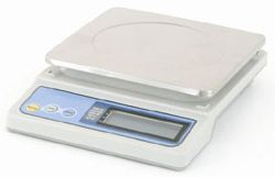 Kitchen Portion Scales For Sale: HC-6000 Portion Control Scale. Capacity 6kg x 1g. Battery or Mains Powered.