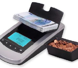 Money Counting Machine: ICM 300 Australian Note Counter & Coin Scale.