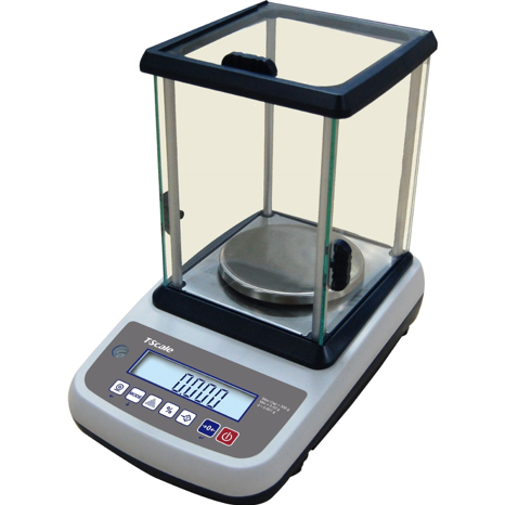 Laboratory High Precision Balances Scales: IHB Auto Calibration. Capacity: 300g x 0.001g & 3000 x 0.01g.